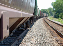 Freight train Stock Images