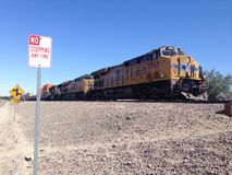 A freight Train Stock Photography