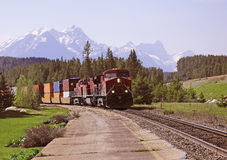 Freight train. Royalty Free Stock Images