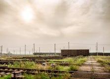 Freight train Stock Photo