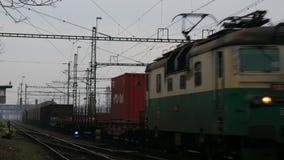 Freight Train 4K stock video