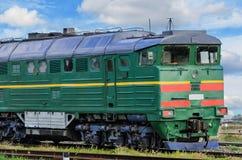 Freight train locomotive Royalty Free Stock Photos