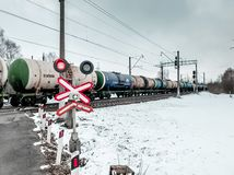 Freight train #2 stock photography