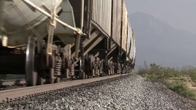 Freight Train. Shot with a Sony EX3 broadcast quality camera stock video footage