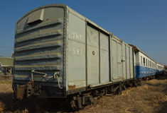Freight train of State Railway of Thailand (SRT) Royalty Free Stock Photos
