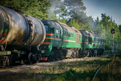 Freight train Royalty Free Stock Image