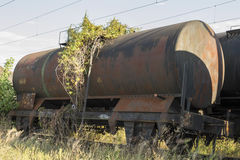 Freight train wagon Stock Photography