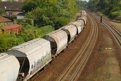 Freight Train Wagons Royalty Free Stock Photo