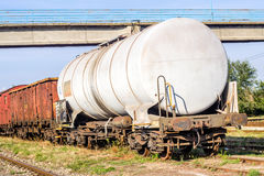 Freight train Stock Photography