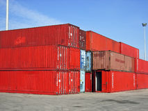 Freight transport Royalty Free Stock Image