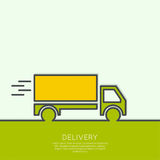 Freight transport Stock Image