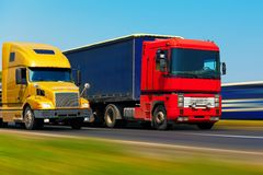 Freight Transportation Royalty Free Stock Photography