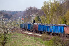 Freight transportation Stock Image