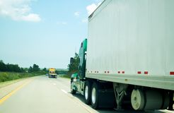 Freight transportation highway Royalty Free Stock Image