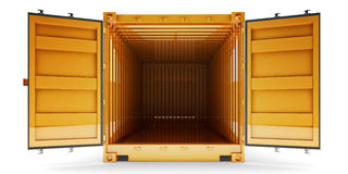 Freight transportation and shipping concept Royalty Free Stock Photo