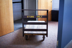 Freight Trolley Royalty Free Stock Photography