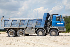 Freight trucks with dump body Stock Photography