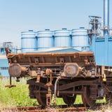 Freight wagon rail stock photos