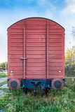 Freight wagon Stock Photo