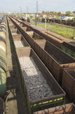 Freight wagons Royalty Free Stock Photography