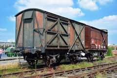 Freight wagons Stock Photos