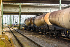 Freight wagons Royalty Free Stock Image