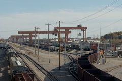 Freight Yard Stock Photography