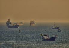 freighter Fotografia de Stock Royalty Free