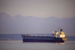 Freighter Hills Royalty Free Stock Images