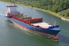 Freighter na Kiel kanale Zdjęcie Stock