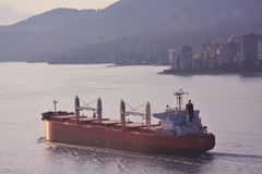 Freighter SBI Lyra Royalty Free Stock Images