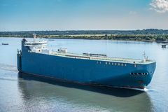Freighter shipping Royalty Free Stock Images