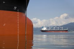 Freighters Stock Photography