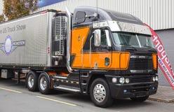 Freightliner Argosy naczepa ciężarówka Fotografia Royalty Free