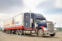Freightliner FLD Royaltyfria Foton