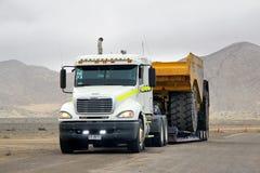 Freightliner Kolumbien lizenzfreie stockfotos