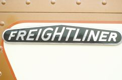 A freightliner truck Stock Image