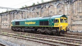 Freightliner-Zug lizenzfreies stockfoto
