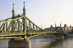 Freiheit-Brücke Stockbild