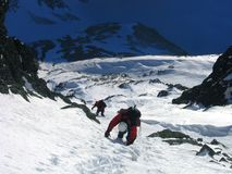 Freiheit der Berge lizenzfreies stockbild