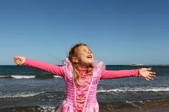Freiheit durch das Meer Lizenzfreie Stockfotos
