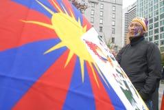 Freiheit für Tibet-Sammlung Lizenzfreies Stockfoto