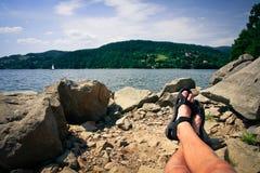 Freiheit und entspannen sich Stockfotos