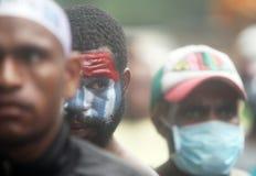 Freiheit von West-Papua Lizenzfreies Stockfoto