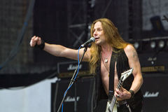 Freiheits-Anruf auf Metalfest 2013 Stockfoto