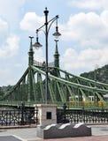 Freiheits-Brücke, Budapest, Ungarn Stockfotos