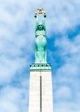 Freiheits-Denkmal, Riga Lizenzfreie Stockfotografie