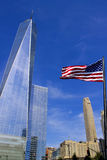 Freiheits-Kontrollturm New York City Lizenzfreies Stockfoto