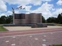 Freiheits-Park-Flagge Lizenzfreies Stockfoto