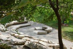 Freiheits-Sommer-Erinnerungs-Miami-Universität im Freien, früher Westcollege für Frauen lizenzfreies stockbild